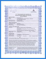 <span>CE认证:证书编号TCF-2091CC18</span>